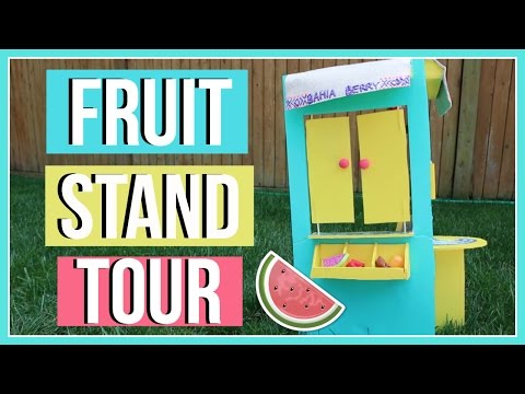 DIY LEA CLARK FRUIT STAND TOUR! ! Tour of my Handmade Lea Clark Fruit Stand