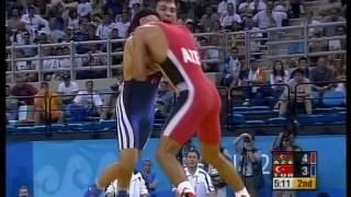 Fərid Mansurov Afina Olimpiadası final görüşü / 2004