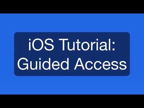 iOS 11 Tutorial: Guided Access (Restrict use to a single App!)