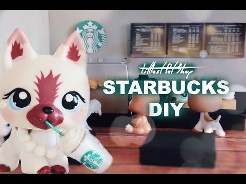 DIY Littlest Pet Shop Starbucks