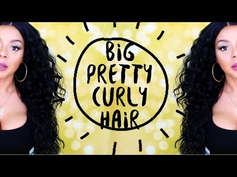 BIG PRETTY CURLY HAIR FOR UNDER $29! | SENSATIONNEL BOUTIQUE DEEP WIG | HAIRSOFLY