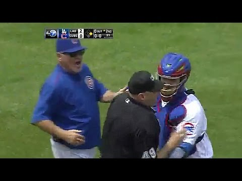 Umpire Tries to Fight Jon Lester on the Mound