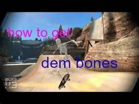 Skate 3 secret character. How to get Dem Bones