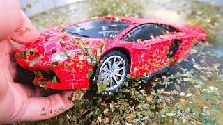Aprende los Colores | Coches de Juguete Lamborghini para Niños