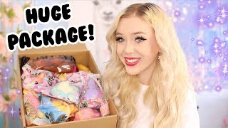 Download BIGGEST SQUISHY PACKAGE EVER! FROM DELITEFULBOUTIQUE!! Video