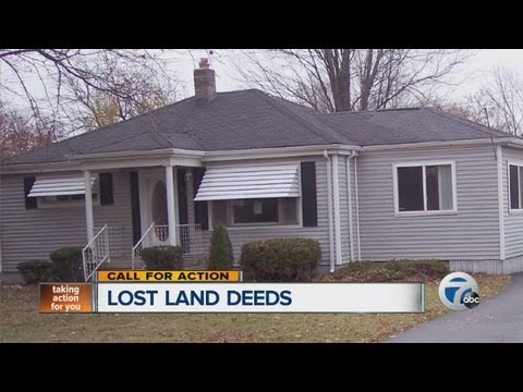 Lost land deed