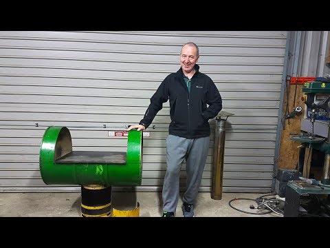 Dirt Cheap Waste oil Barrel Heater / Cooker pt 3