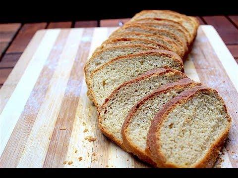 Easy Whole wheat bread - How to make bread at home - Brown bread recipe - Homemade bread recipe