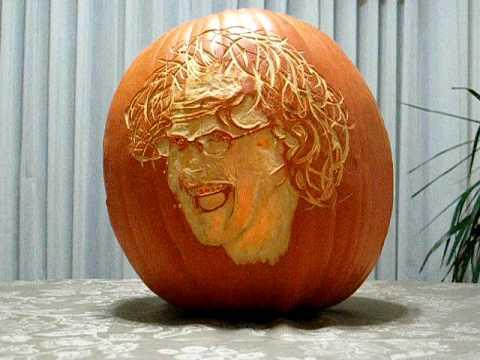 Me as a Crazed Pumpkin