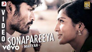 Maryan - Sonapareeya Video | Dhanush, Parvathy Menon | Rahman