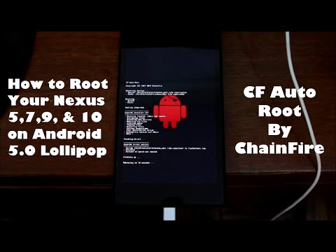 How to Root the Nexus 4, 5, 7, 9, & 10 on Android 5 0 Lollipop with CF Auto Root