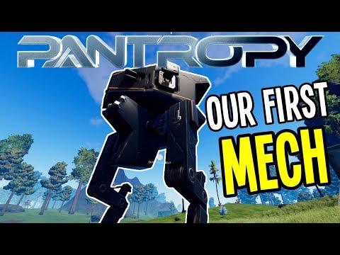 Pantropy - BUILDING OUR FIRST MECH!! - Pantropy Gameplay - Episode 2