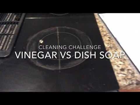 Vinegar Vs Dish Soap for Cleaning Stovetop