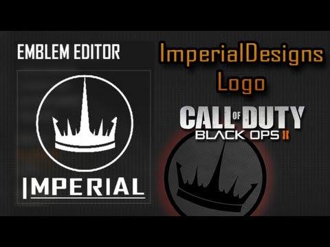 Black Ops 2 Emblem Tutorial   Imperial Designs Logo