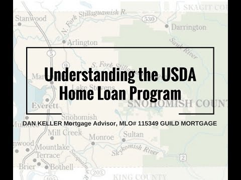 USDA Home Loan Requirements for Washington State