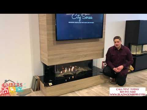 Regency City Series San Francisco Bay Designer Direct Vent Gas Fireplace Review