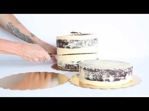 Tall Cake Cutting Tutorial - Chester Street Bakery