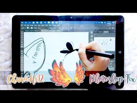Chuwi Hi12:  Photoshop CC 2017 Fix