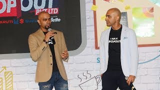 Raghu Ram & Rajiv Laxman At The Launch Of MTV New Reality Show Dropout PVT LTD