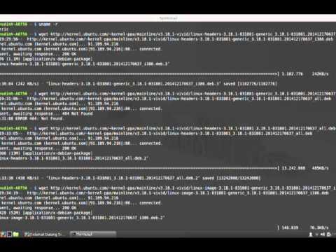 Cara Compile kernel Linux (UNIVERSITAS NEGERI GORONTALO)