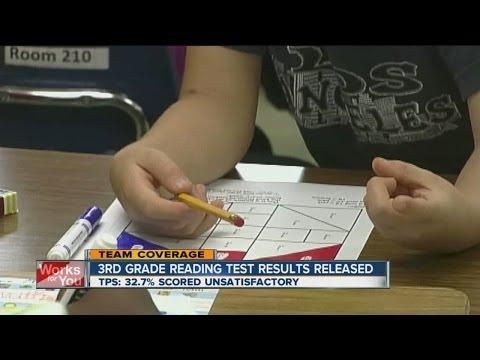 3rd Grade Reading Test Scores