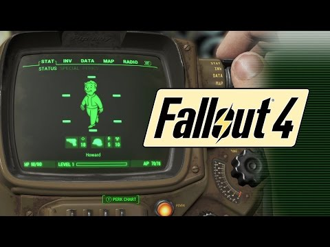 Fallout 4: Build the Best Character Class Now with Pre-Game Character Creation Tool!