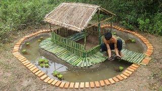 Build Ground Fish Pool Around Underground House