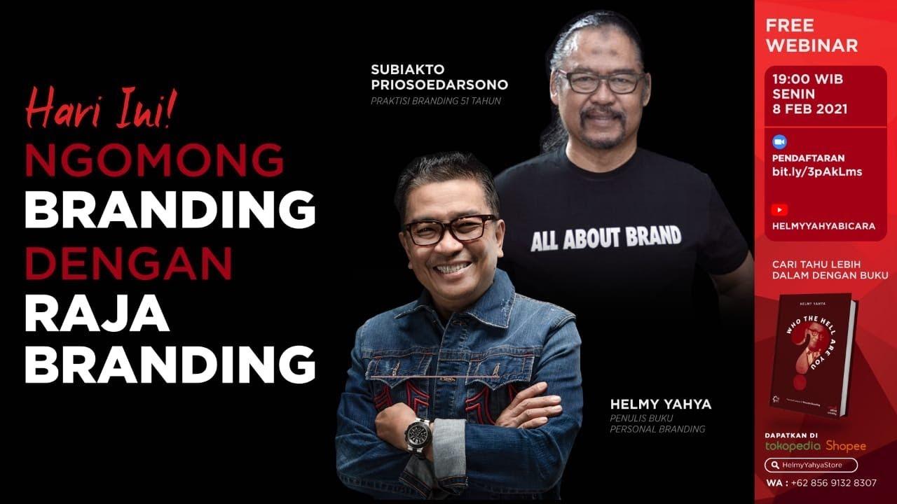 Ngomong Branding Dengan Raja Branding