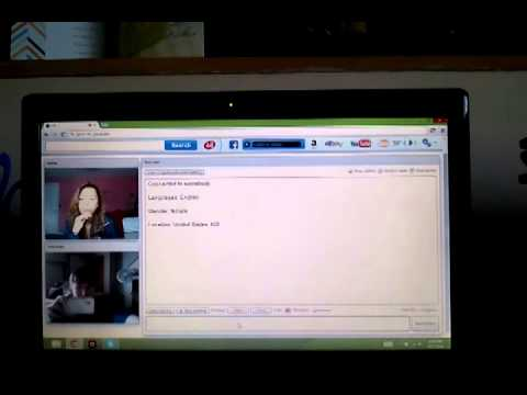 Frist time on chatroulette