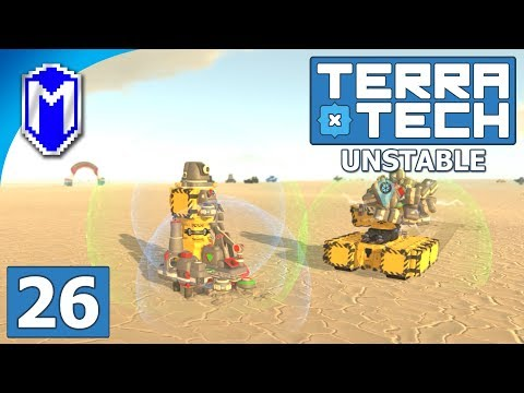 TerraTech - Auto Miner Base And The Magnet Platform - Lets Play TerraTech Unstable Gameplay Ep 26