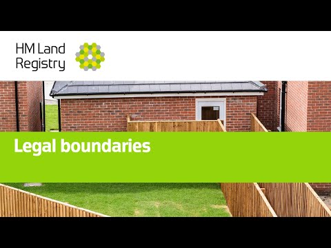 Legal boundaries: Boundaries part 5