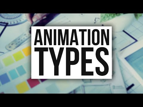 The 5 Types of Animation