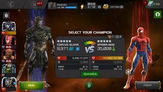 Ultron's assault: variant 3.2 aspect of war Spider-Man