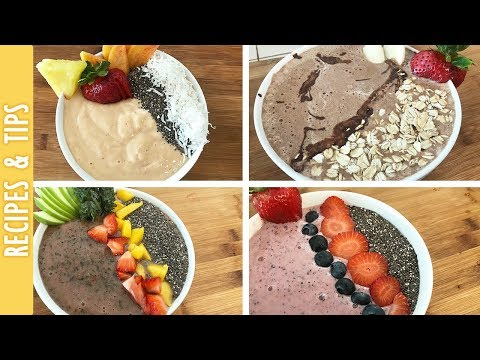 4 Healthy Breakfast Bowls, Quick and Delicious Shakes - The290ss