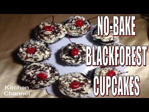 No Bake Blackforest cupcake -- kitchen Channel --