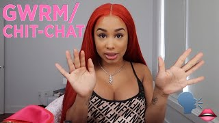 GET READY WITH ME / CHIT CHAT
