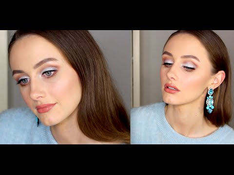Rich Brown & Silver Makeup Look | Makeup Geek Hire Wire