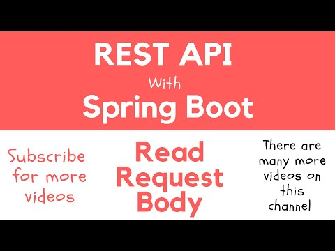 REST API with Spring Boot - Read HTTP Request Body with @RequestBody Annotation