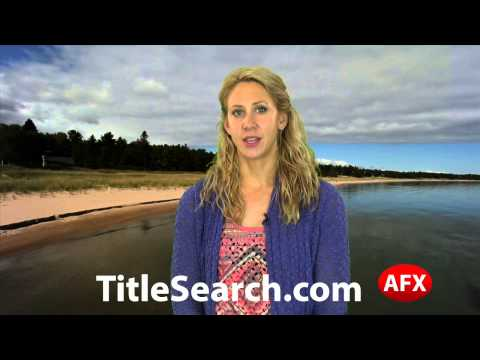 Property title records in Lapeer County Michigan   AFX