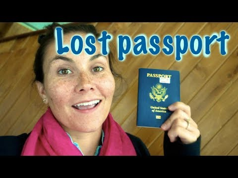I lost my passport in Bangkok