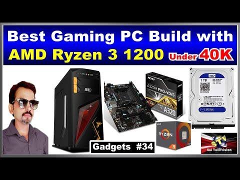 Best Budget Gaming PC Build with AMD Ryzen 3 1200 Under 40K #34