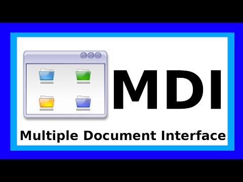 Visual Basic 2015 - MDI Form (Parent Child / Multiple Document Interface) [HowTo #043]