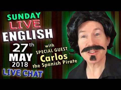 Live English - Learn English - 27th May 2018 - Improve your listening - Embarrassment - Mr Duncan