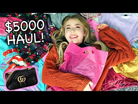 $5000 CLOTHING HAUL! Urban Outfitters, Forever21, Gucci