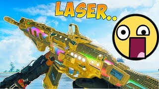 55 KILLS WITH THE LASER GUN OF BLACK OPS 4 BEST ICR 7 CLASS SETUP ON