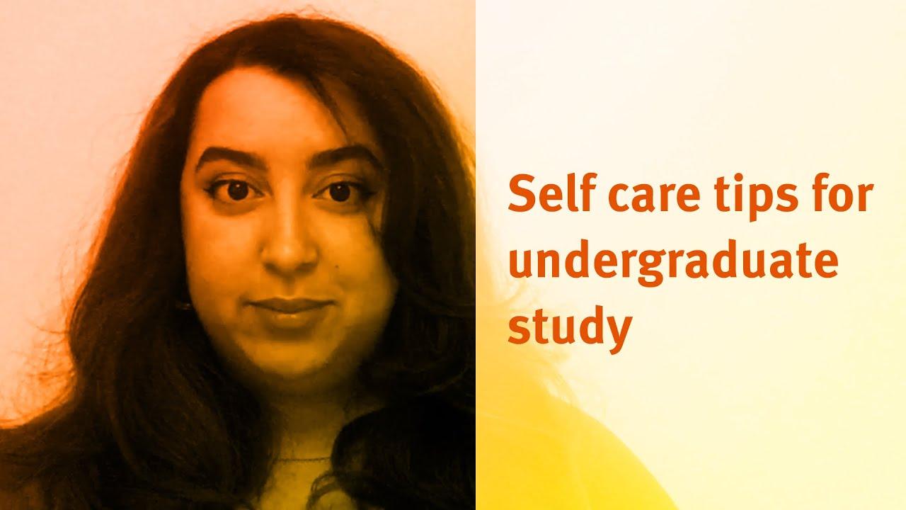 City, University of London: Self care tips for undergraduate study