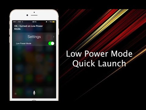 How to quickly enable Low Power mode on your iPhone - iPhone Hacks