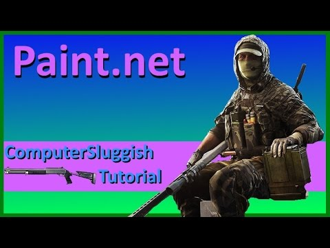 Paint.net Make Image Background Transparent Tutorial For Beginners Windows #3