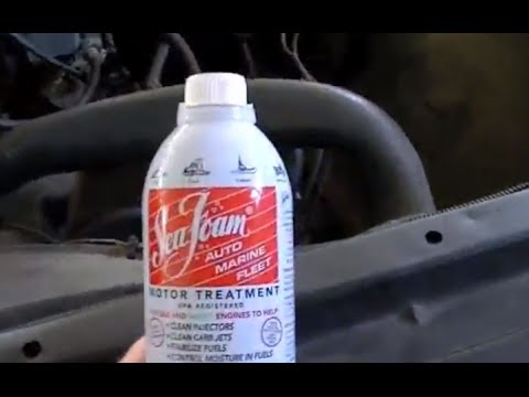 SEAFOAM ENGINE TREATMENT TEST | Engine Cleaner and Performance Restoration