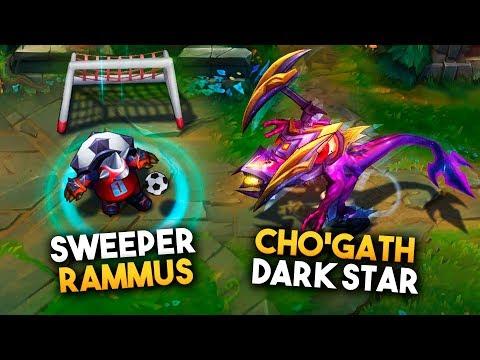 Nuevas Skins: Cho'gath Estrella Oscura y Rammus Futbolista | Noticias LOL
